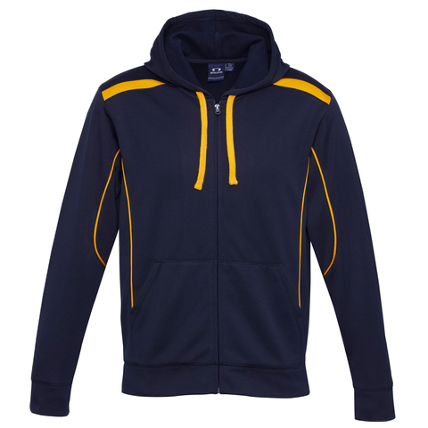 Mens United Hoodie, Colours: Navy / Gold