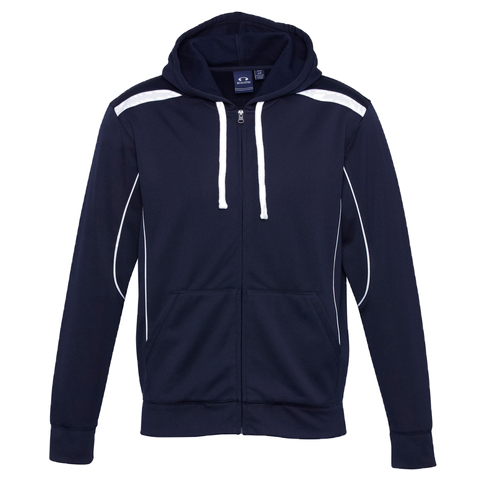 Mens United Hoodie, Colours: Navy / White