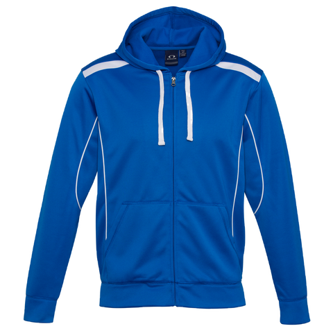 Mens United Hoodie, Colours: Royal / White