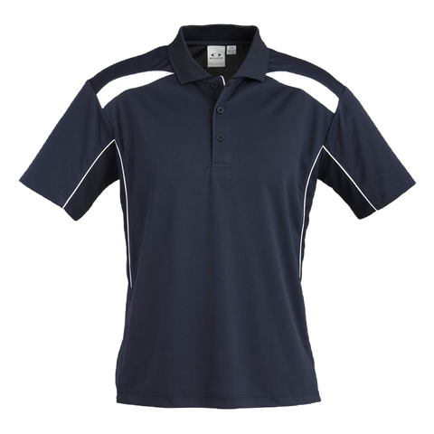 Image of Mens United Polo - Colours Navy / White