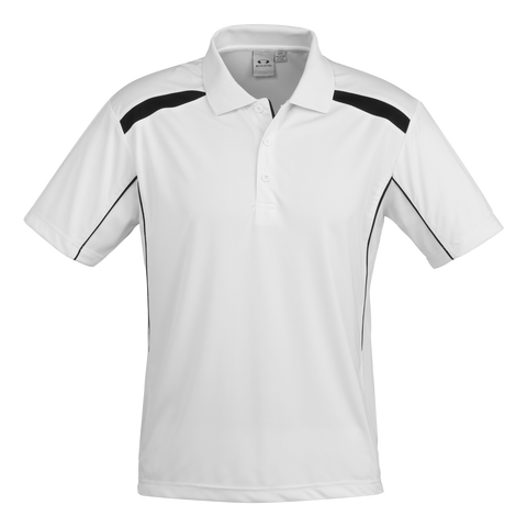 Image of Mens United Polo - Colours White / Black