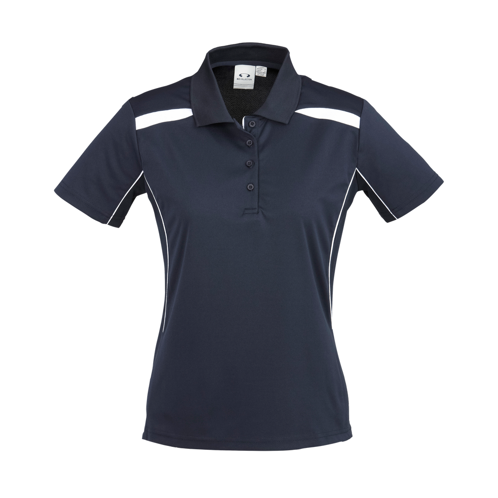 Womens United Polo - Colours Navy / White