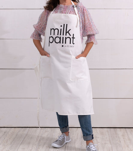 Fusion Milk Paint Apron