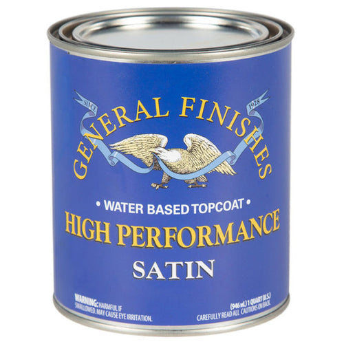 GF High Performance Water Based Topcoat