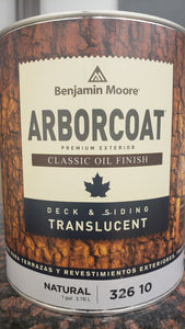 Arborcoat Translucent Natural Oil Deck & Siding Stain