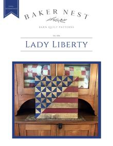Lady Liberty Barn Quilt SOLD OUT! {Thursday, July 2nd 6pm}