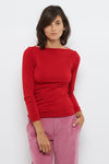 Tolsing Paris Bluse / Red Wool