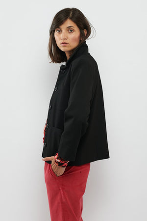 Tolsing Naja work Jacket / Black struktur