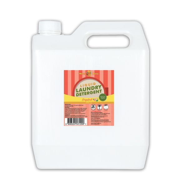 Liquid Laundry Detergent - Grapefruit 4000ml