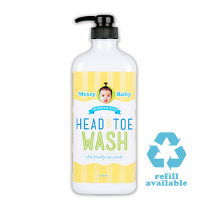 Messy Baby Head to Toe Wash 500ml