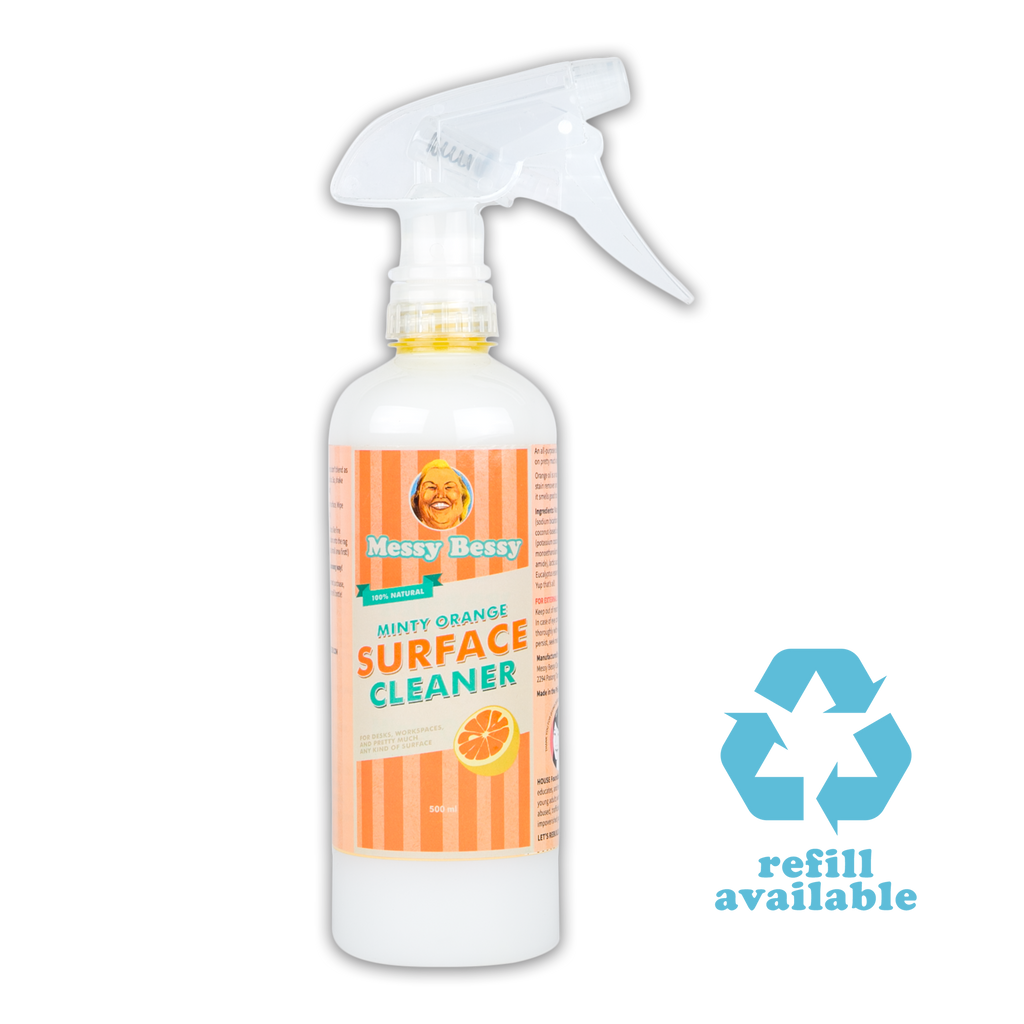 Minty Orange Surface Cleaner