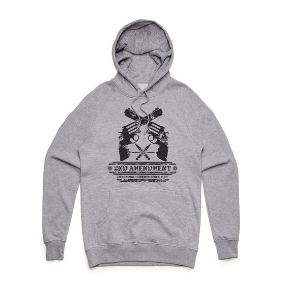 2nd Amendment Mid Weight Pullover Hoodie