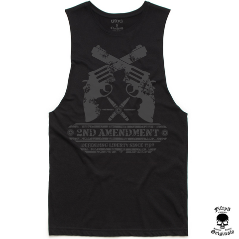 2nd Amendment Mens Muscle Tank