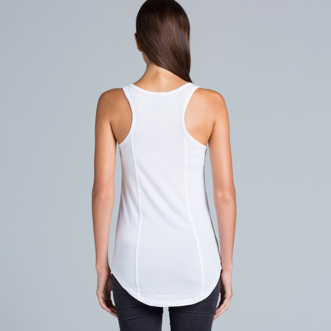 Fifty5 Luxe Women's Dash Panel Detail Racerback Tank Top