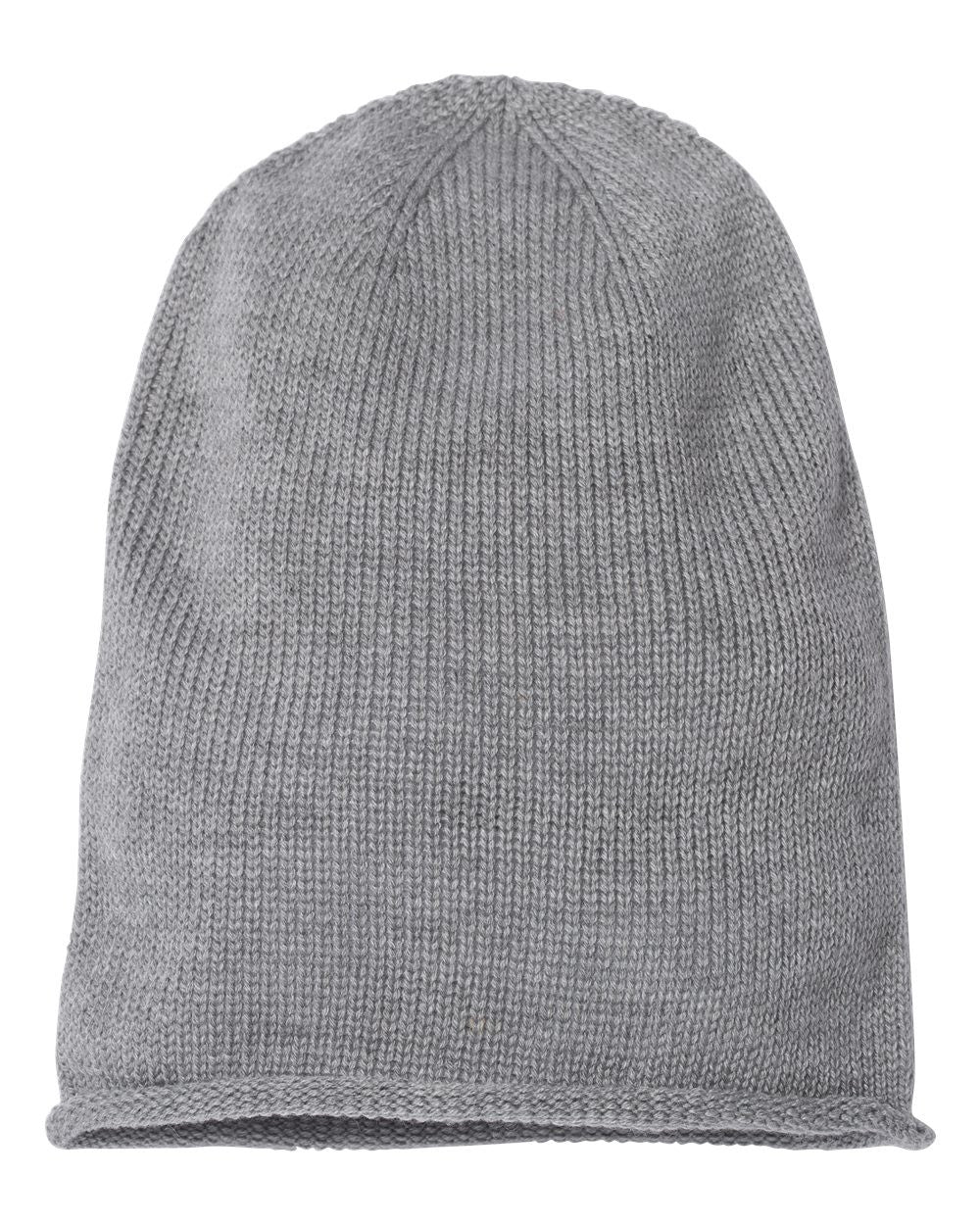 Fifty5 Clothing Super Soft Rolled Edge Slouch Beanie 12""