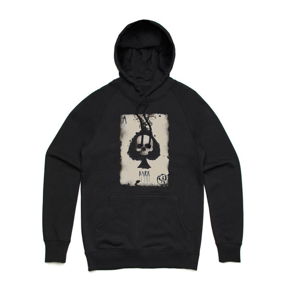 Fifty5 Clothing Aces Dark Pullover Hoodie