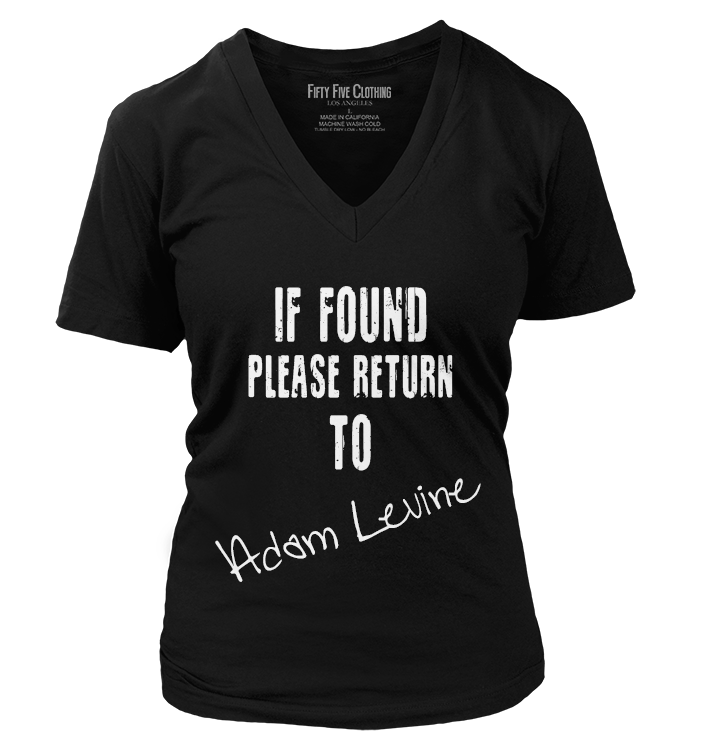 Return To Adam Levine Vintage Women's T Shirt