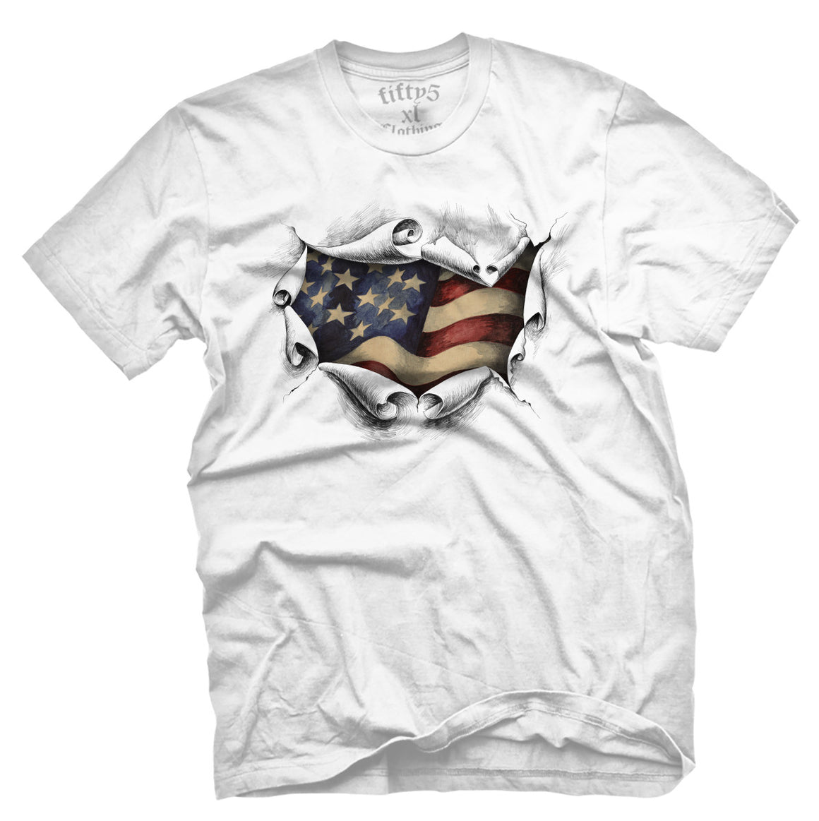 Fifty5 Clothing American Men's T Shirt