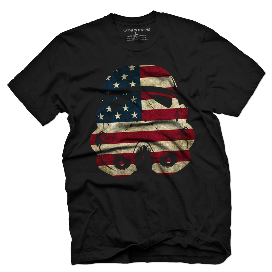 American Trooper Vintage T Shirt