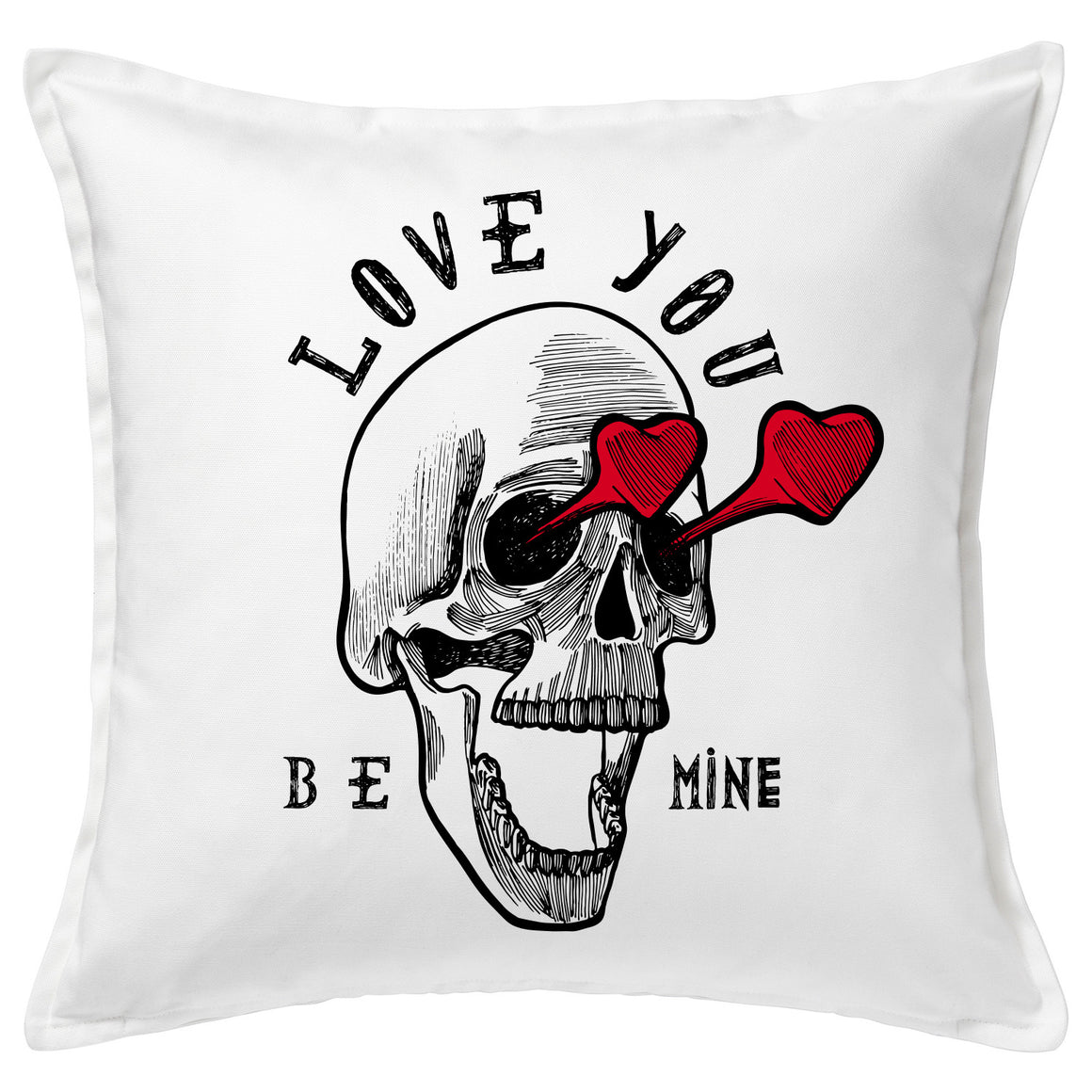 Be Mine 20x20 Feather Throw Cushion
