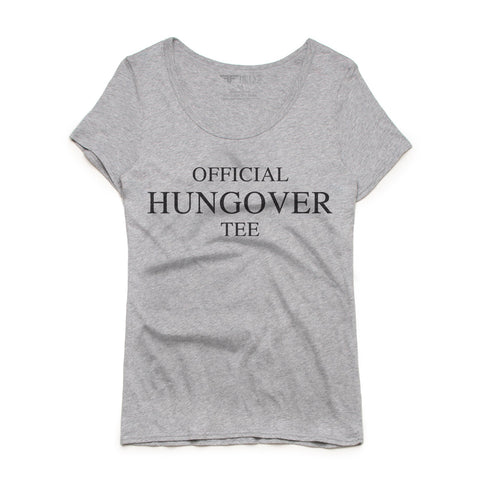 Official Hungover Tee Women's Luxe T Shirt