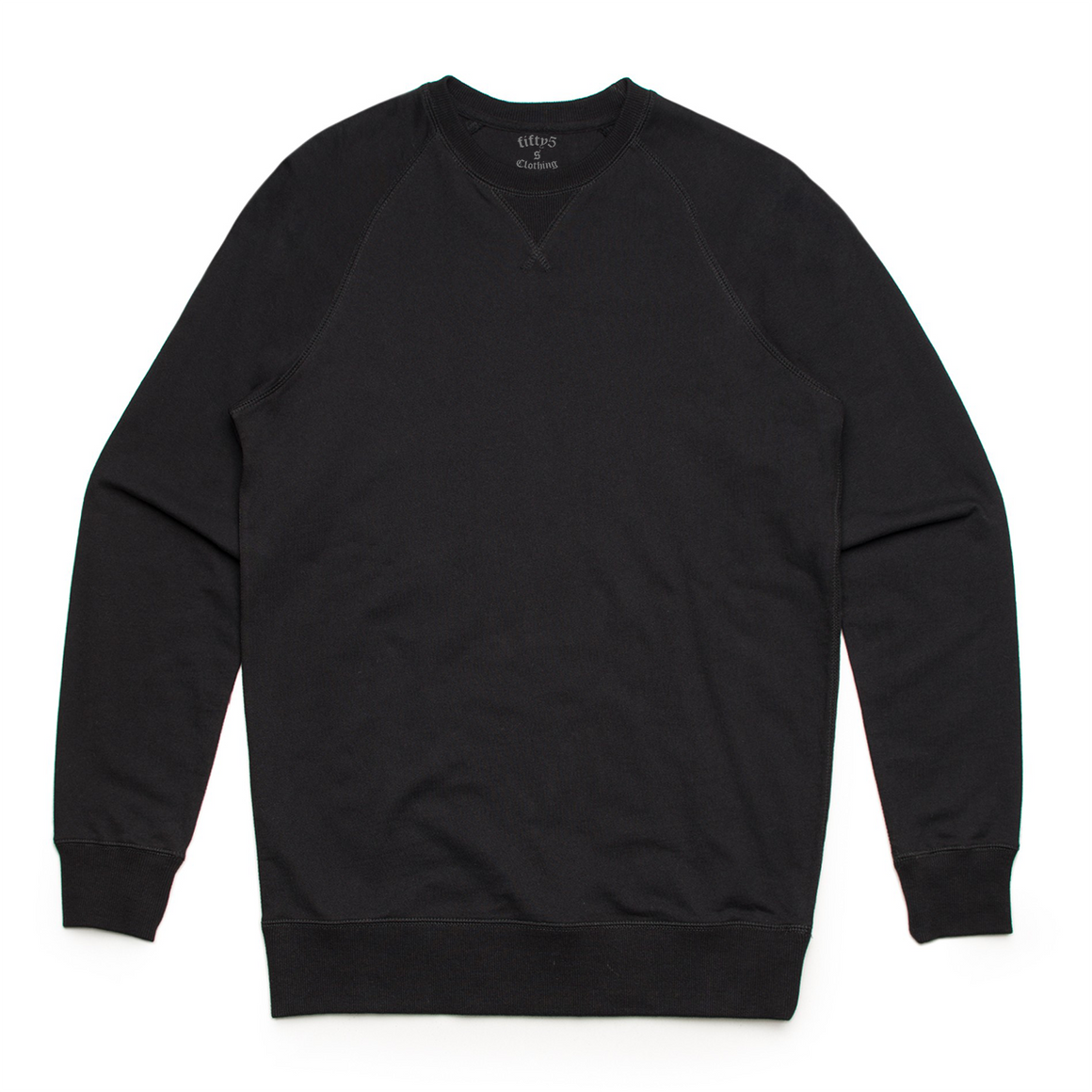 Fifty5 Clothing Premium Brush Crew Sweatshirt