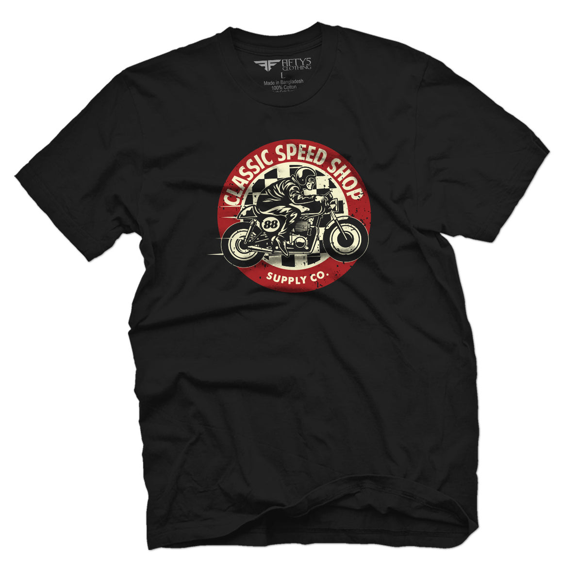 Fifty5 Clothing Classic Speed Shop Men's T Shirt