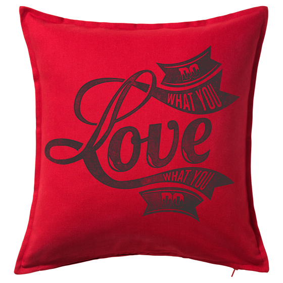 Do What You Love 20x20 Throw Cushion