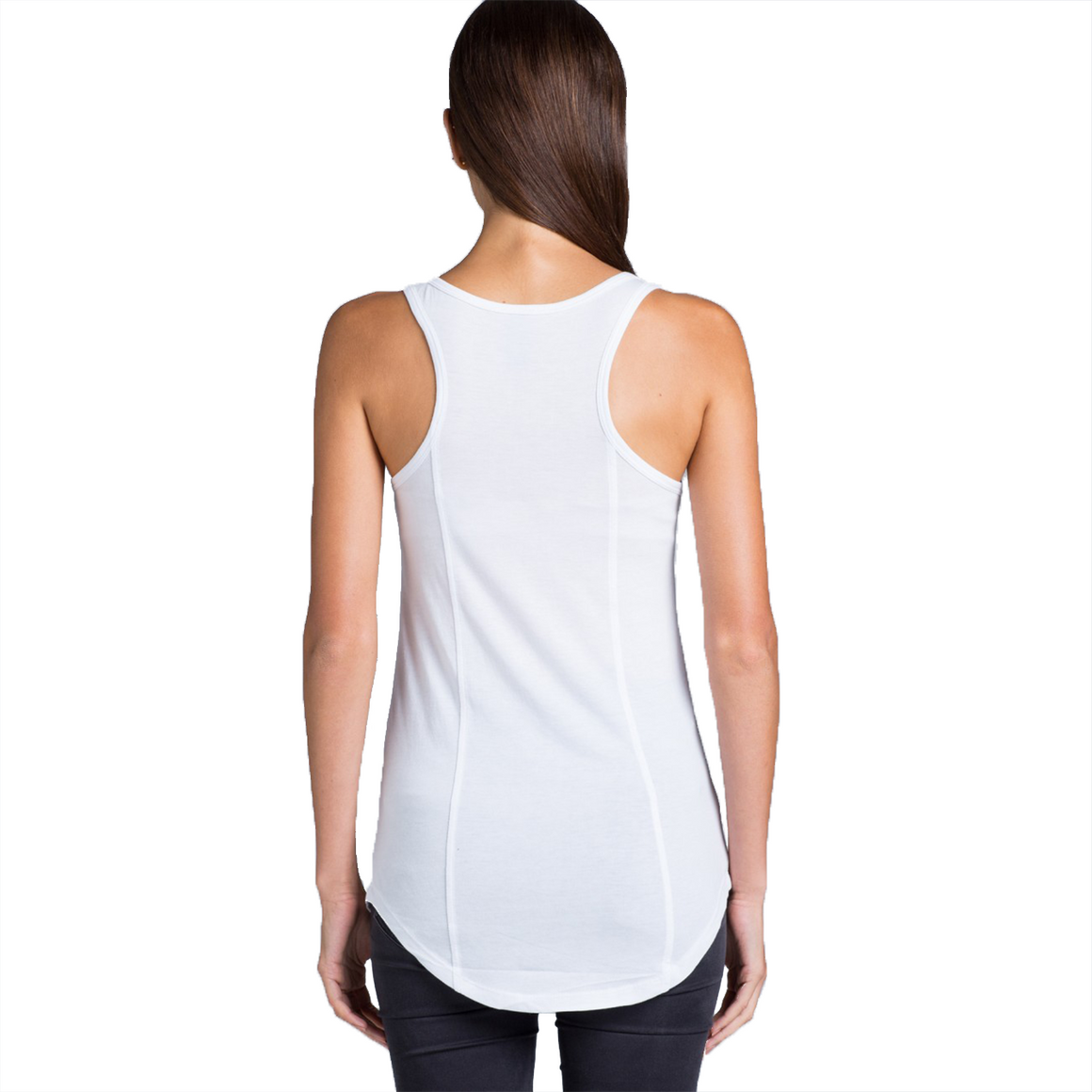 Fifty5 Drinks Well With Others Women's Luxe Panel Detail Racerback Tank Top