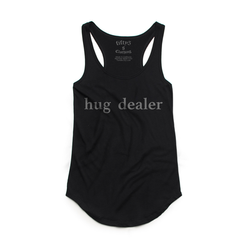 Fifty5 Hug Dealer Women's Luxe Panel Detail Racerback Tank Top