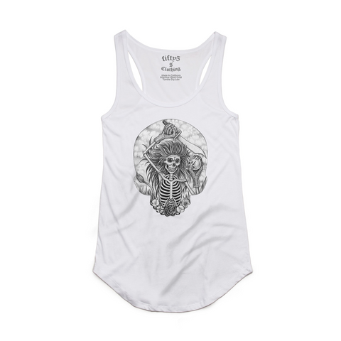 Fifty5 Leo Zodiac Women's Luxe Panel Detail Racerback Tank Top