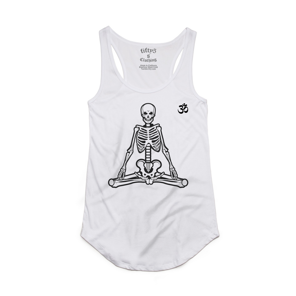 Fifty5 Meditation Women's Luxe Panel Detail Racerback Tank Top