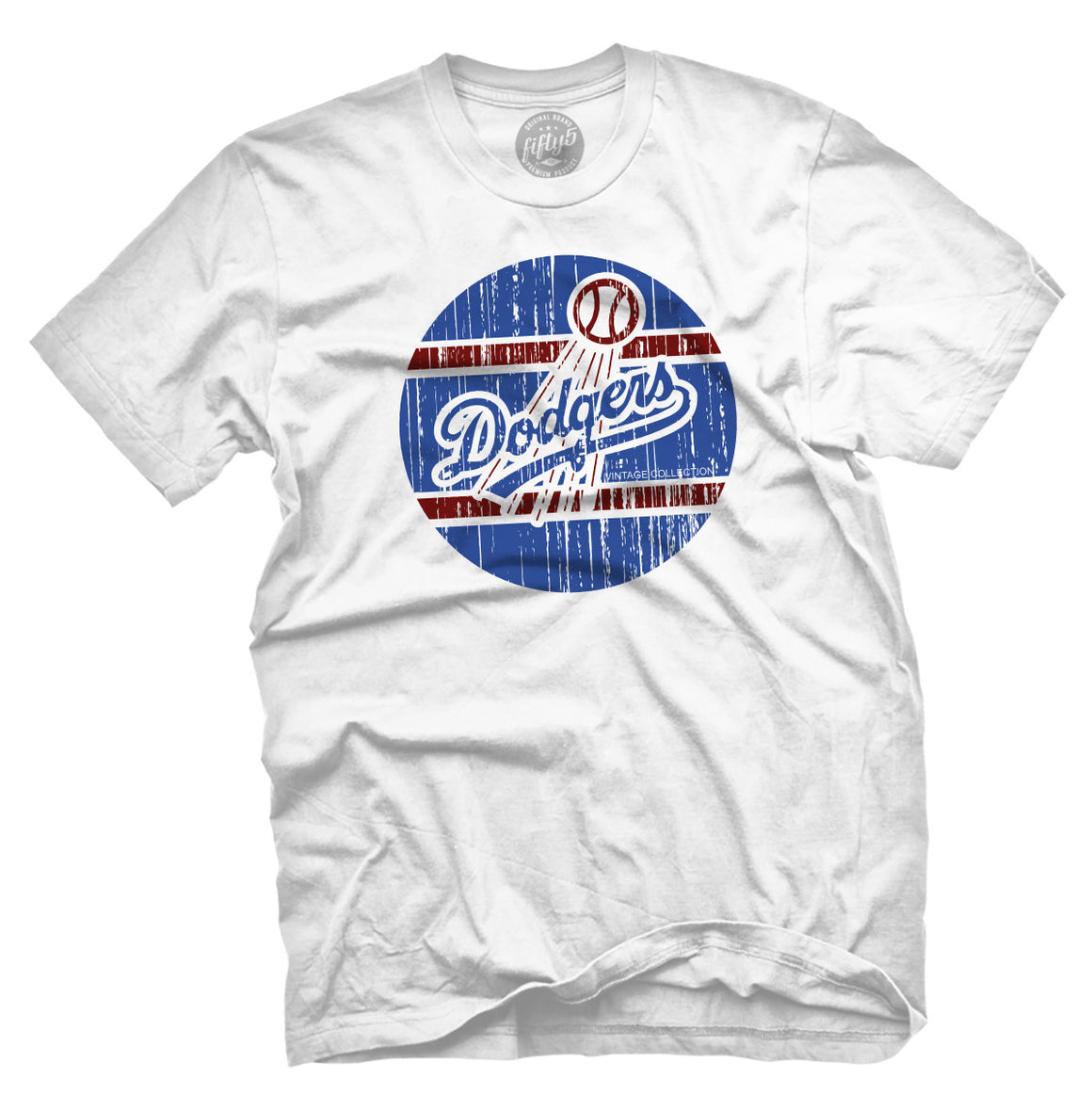Vintage Dodgers Men's T Shirt