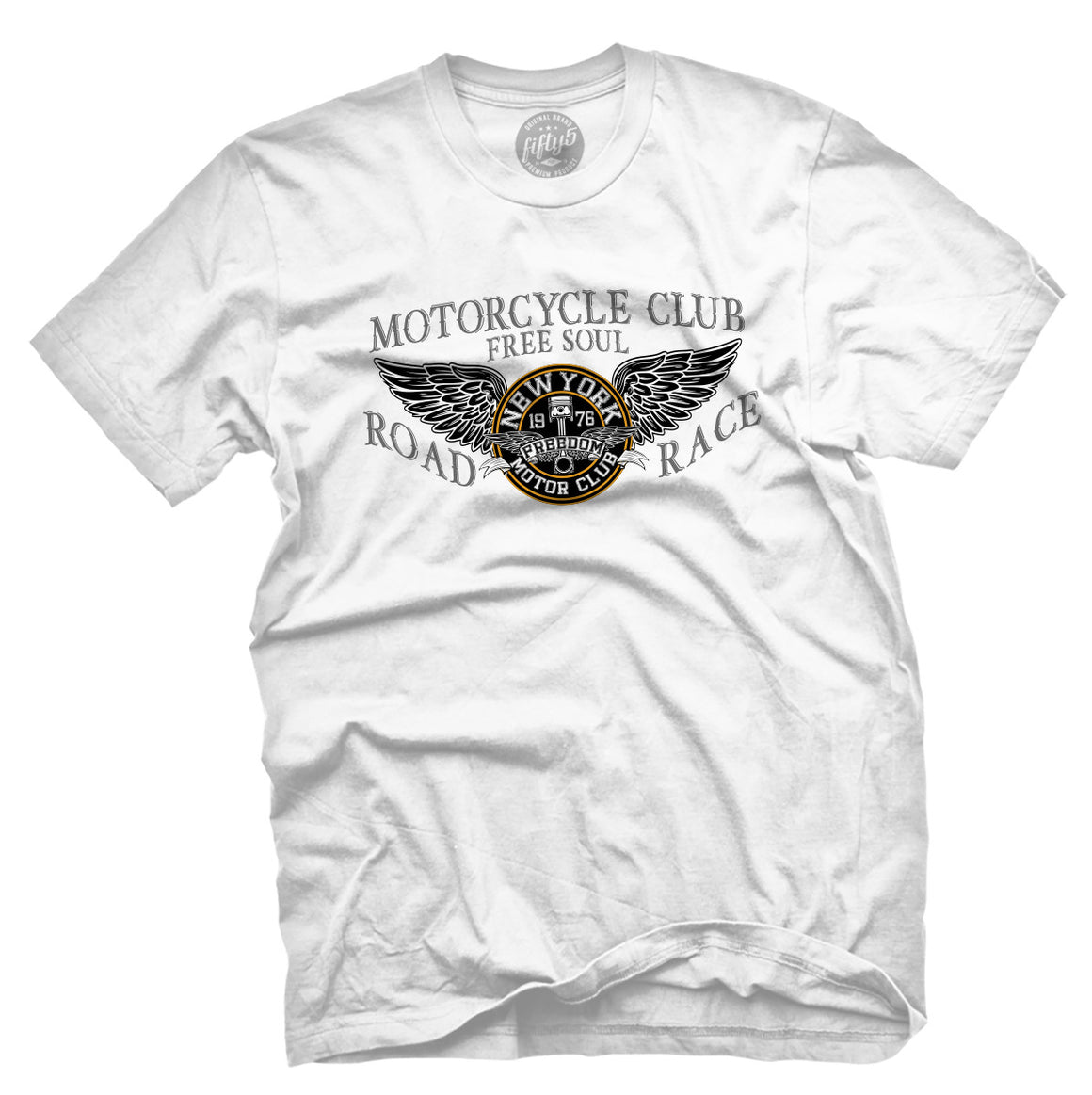 Free Soul Motorcycle Club Men's T Shirt