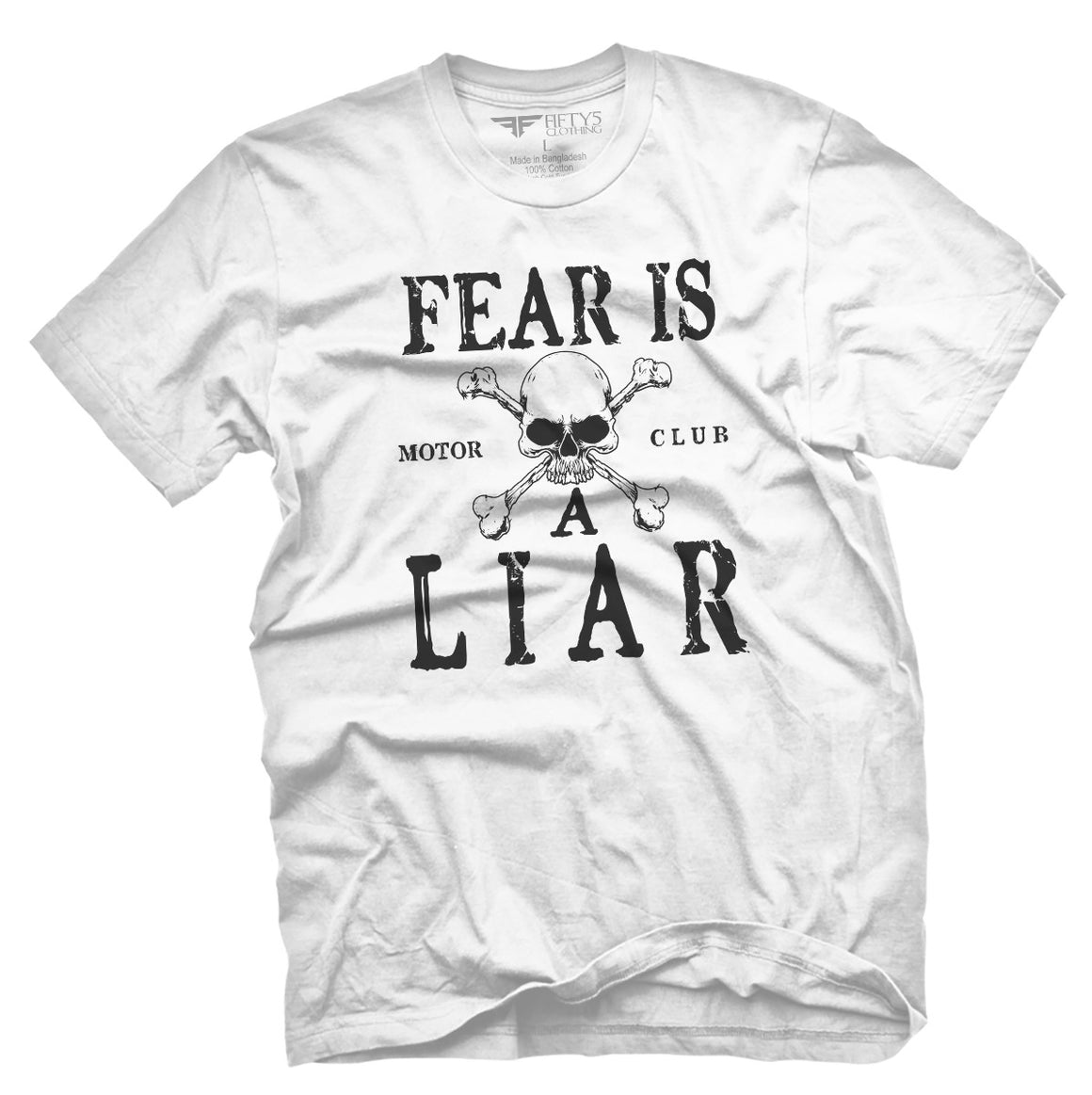 Fear is a Liar Men's T Shirt