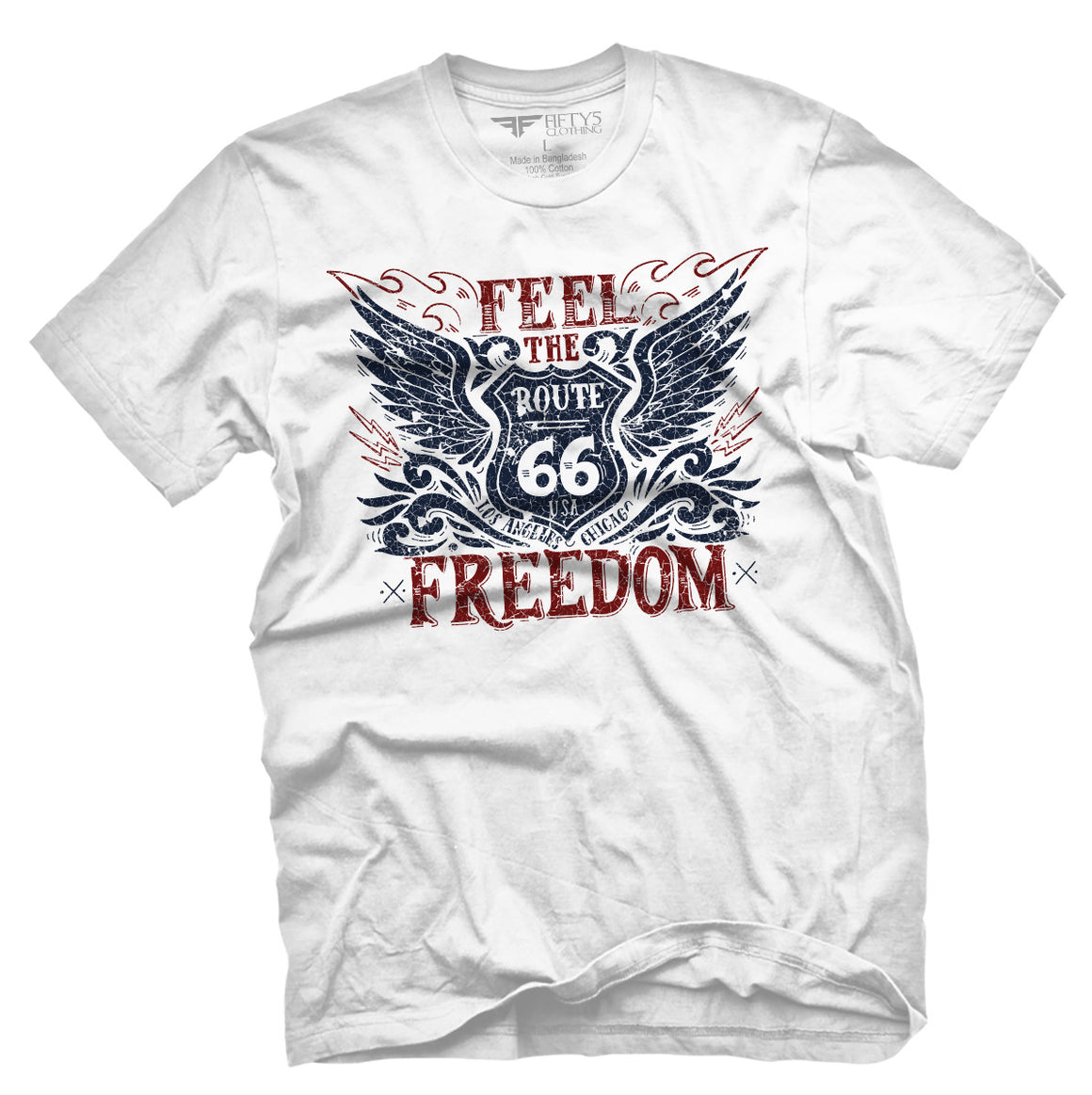 Fifty5 Clothing Feel The Freedom Men's T Shirt