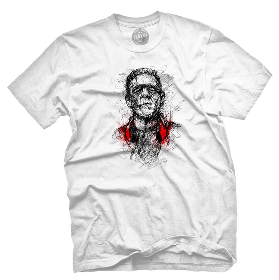 Fifty5 Clothing FrankenSketch Men's T Shirt