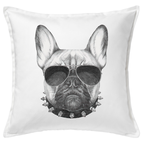 Frenchie 20x20 Throw Cushion