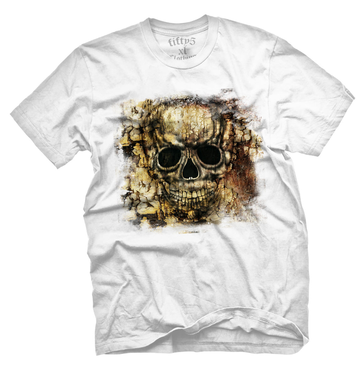 Fifty5 Gothic Skull Men's T Shirt