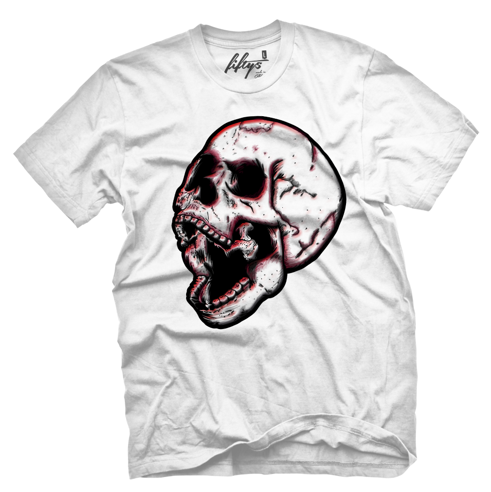 Graffiti Skull Men's T Shirt