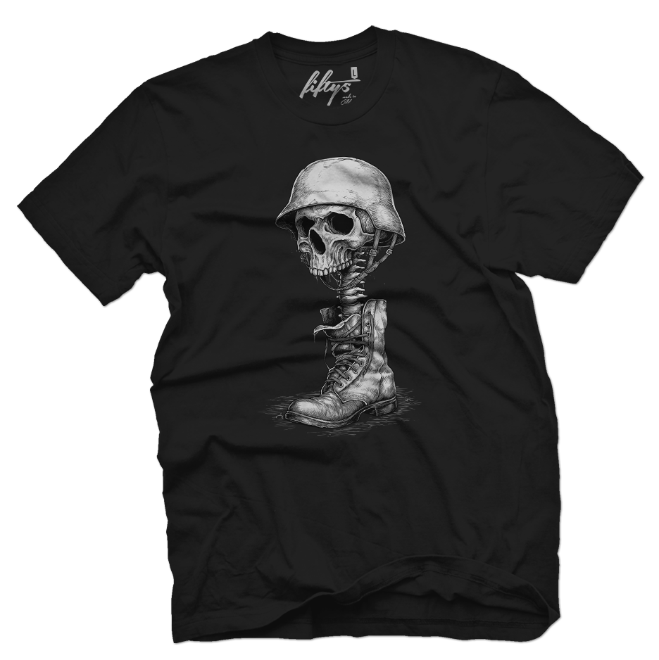 Hero Skull Men's T Shirt