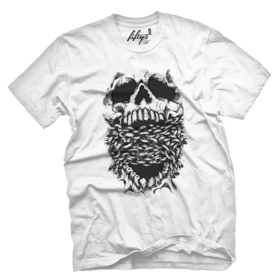 Hush Skull Men's T Shirt