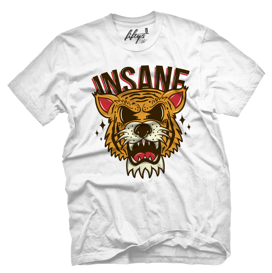 INSANE Old School Tiger Men's T Shirt