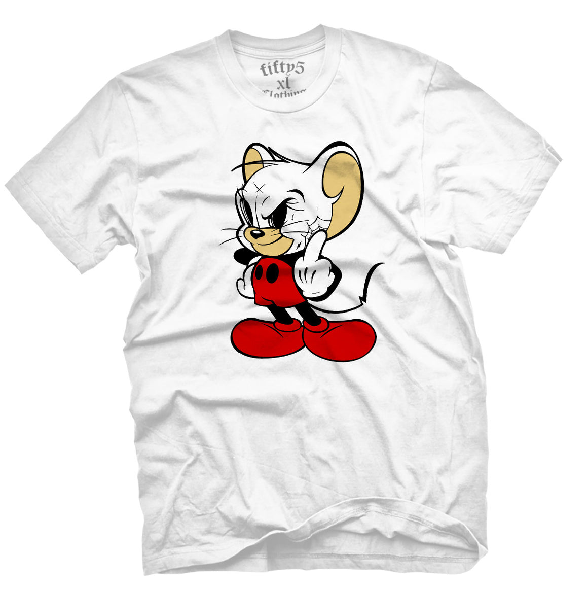 Fifty5 Clothing Mickey or Jerry Men's T Shirt