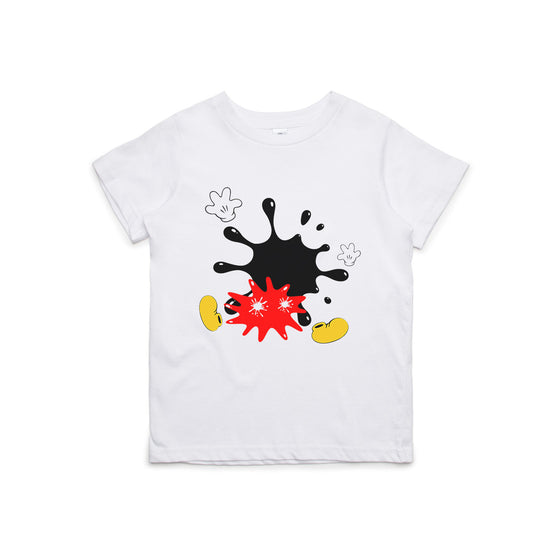 Mickey Splat Kids T-Shirt