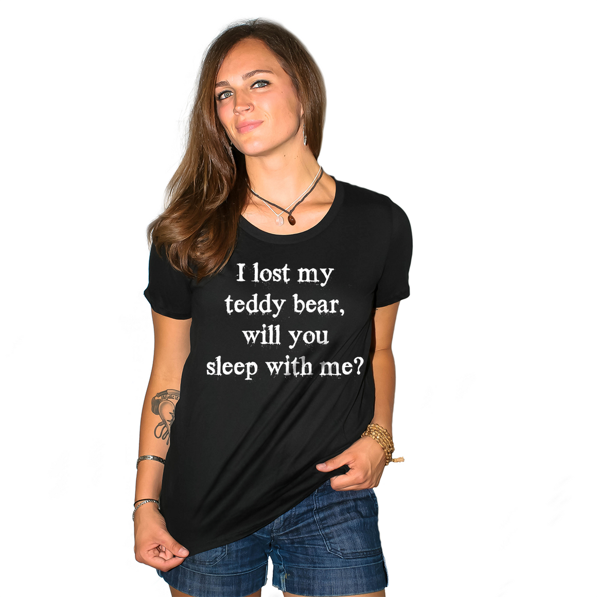 I Lost My Teddy Bear Women's Loose Fit Boyfriend T Shirt