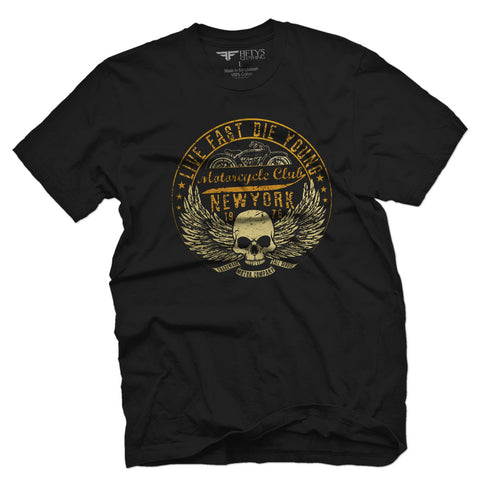 Fifty5 Clothing Live Fast New York Men's T Shirt