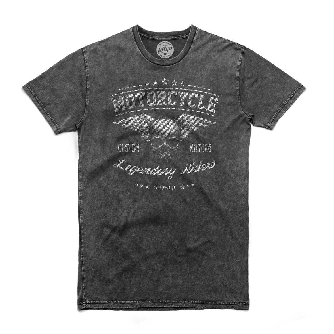 Legendary Riders Men's Stone Wash T Shirt