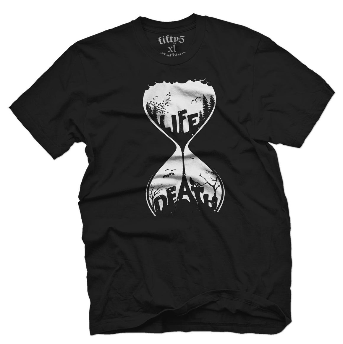 Fifty5 Clothing Life & Death Men's T Shirt