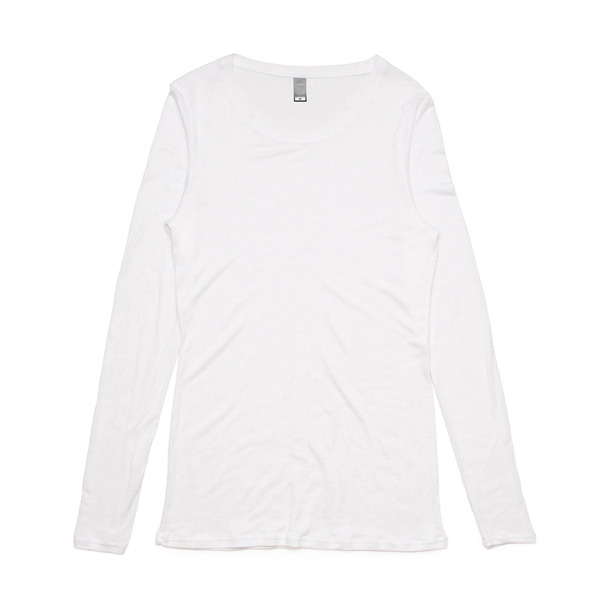 Fifty5 Luxe Women's Fine Linen Blend Long Sleeve T Shirt
